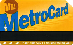 Die New York Metro Card
