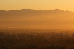Sonnenaufgang in Las vegas