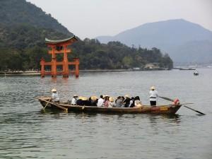 Tori - der Eingang zum Shintoshrein