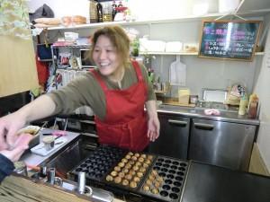 Takoyaki - Teigkugeln mit Tintenfisch