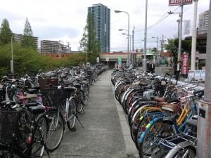 Radl Parkplatz kostenpflichtig (rosa Zettel)