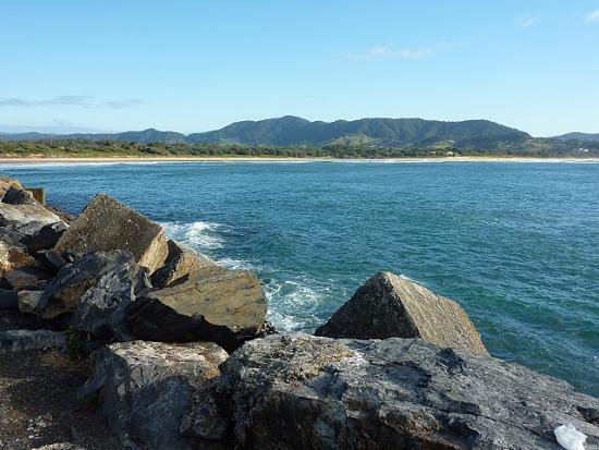 Coast-Line at Coffs Harbour