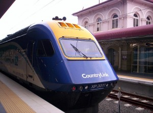 CountryLink-Zug von Brisbane nach Sydney